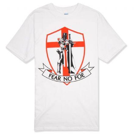 "Warrior ""Fear No Foe"" England T-shirt"